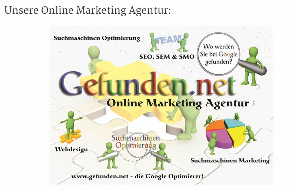 gefunden.net, die Online Marketing Agentur